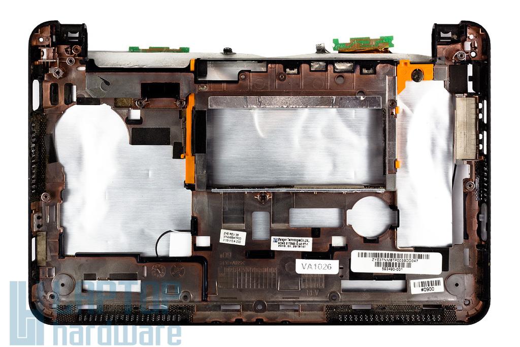 HP Mini 210 használt fekete alsó keret, bottom base frame 593490-001