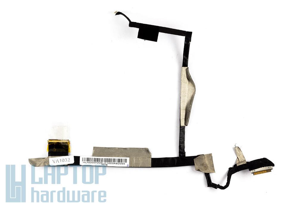 HP Mini 210 használt LCD átvezető kábel, LCD cable (HLNDD0NM6LC1003)
