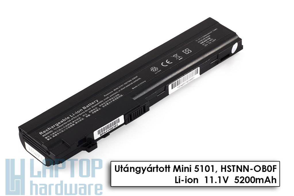 HP Mini 5101, 5102, 5103 helyettesítő új 6 cellás laptop akku/akkumulátor (HSTNN-OB0F)