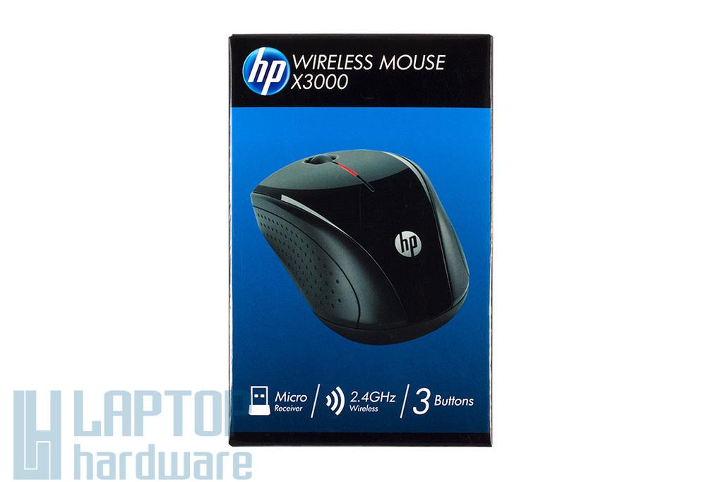HP Mouse X3000 fekete optikai vezeték nélküli egér (H2C22AA)