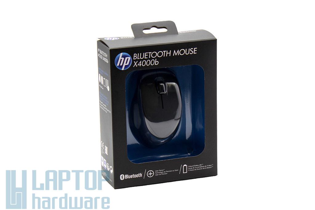 HP Mouse X4000b fekete 1600 dpi-s vezeték nélküli lézer egér (H3T50AA)