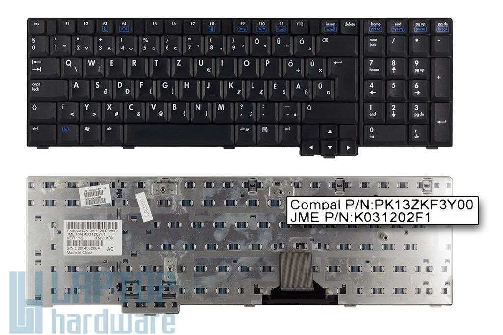 HP nx9420, nw9440 használt magyar laptop billentyűzet (PK13ZKF3Y00)