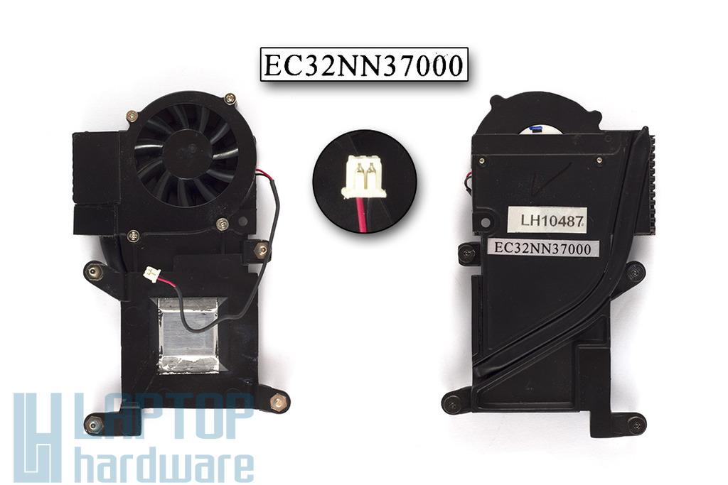 HP OmniBook XE3, Pavilion N5150, N5190 használt komplett laptop hűtő ventilátor egység (EC32NN37000)