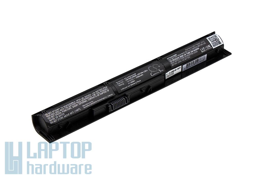 HP Pavilion 14, 15, 17 sorozat helyettesítő új 4 cellás laptop akku/akkumulátor (756743-001, HSTNN-DB6K, HSTNN-LB6J)