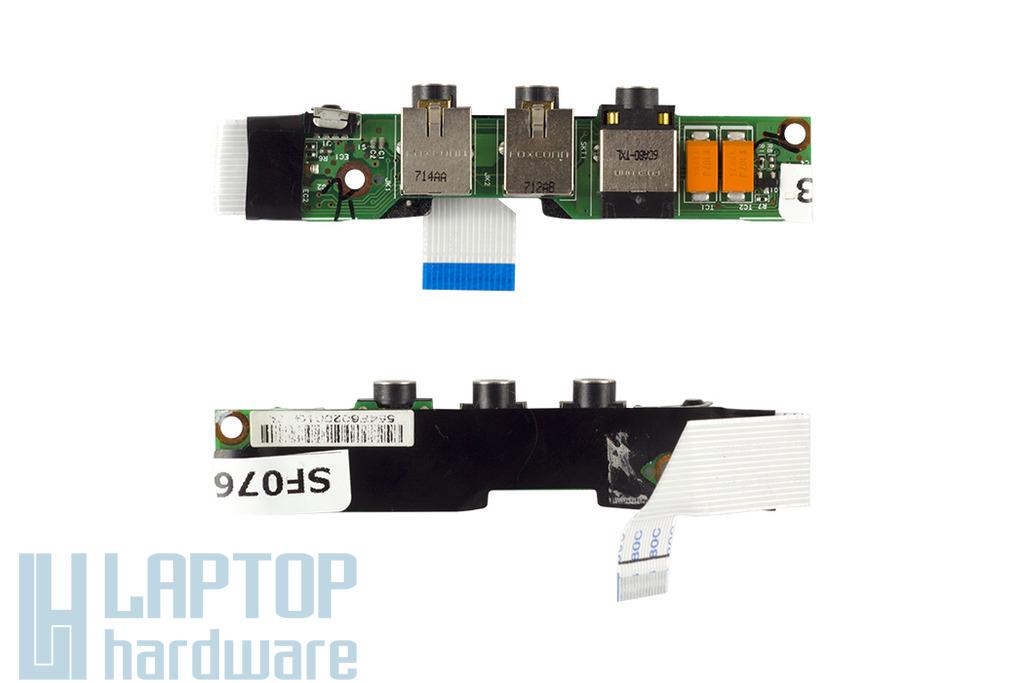 HP Pavilion DV2121TX, DV2400 laptophoz használt audio panel (417086-001)