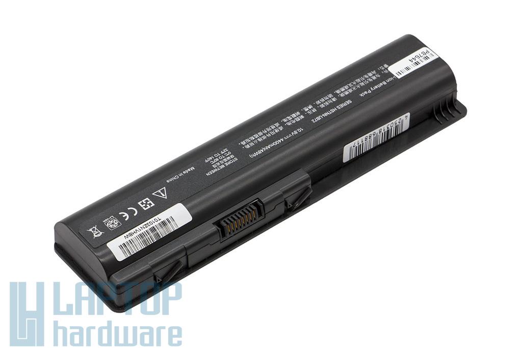 HP Pavilion DV4, DV5, DV6, Compaq CQ61 helyettesítő új 6 cellás laptop akku/akkumulátor (HSTNN-Q34C)