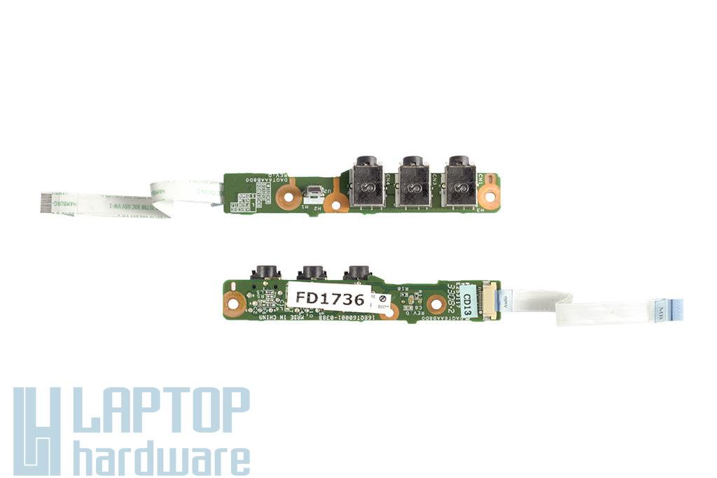 HP Pavilion dv5-1120 laptophoz használt Audio panel (32QT6AB0000)
