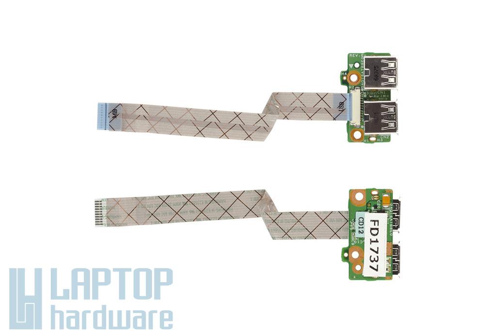 HP Pavilion dv5-1120 laptophoz használt USB panel (34QT6UB0000)