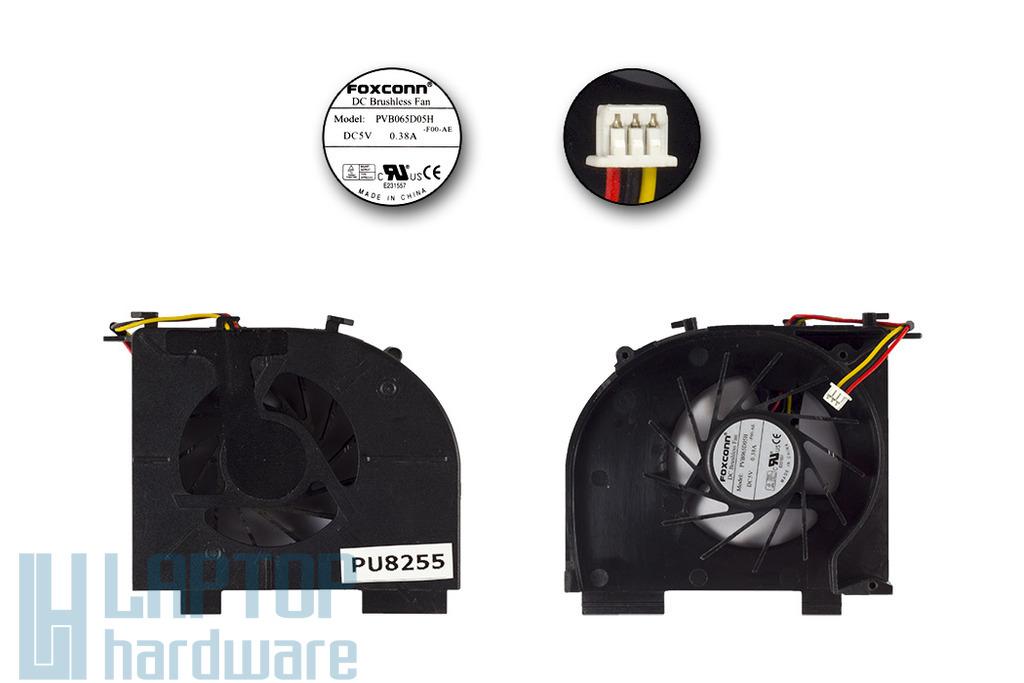 HP Pavilion DV5, DV6, DV7 Gyári Új laptop hűtő ventilátor 1 air out, PVB065D05H
