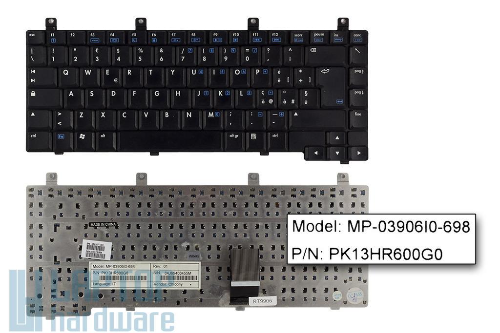 HP Pavilion DV5000, ZV5000, Presario R3000 használt olasz laptop billentyűzet (350187-061)