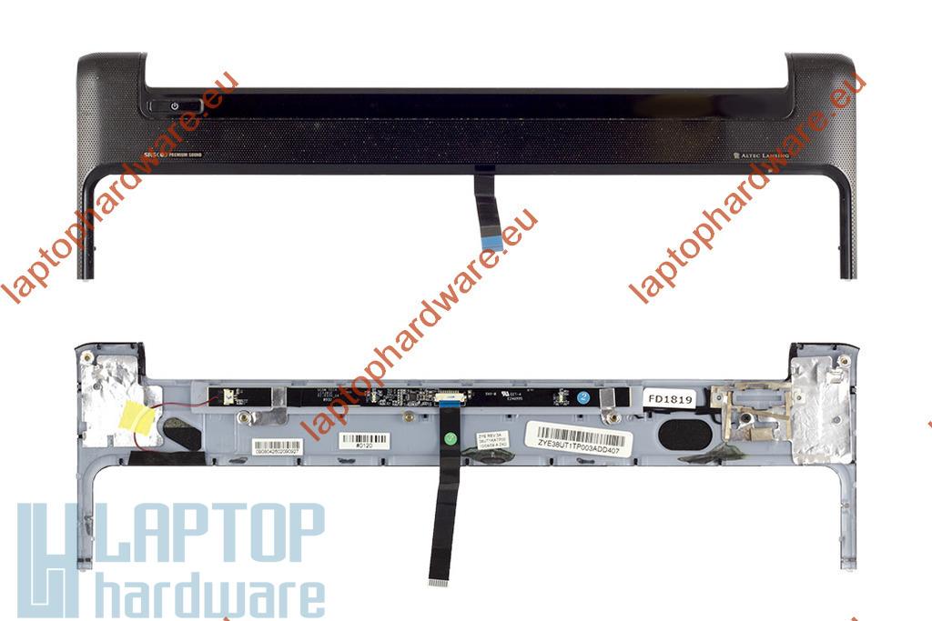 HP Pavilion dv6-1000, dv6-2000 laptophoz használt Bekapcsoló panel fedél érintőpanellel (ZYE38UT1KATP10)