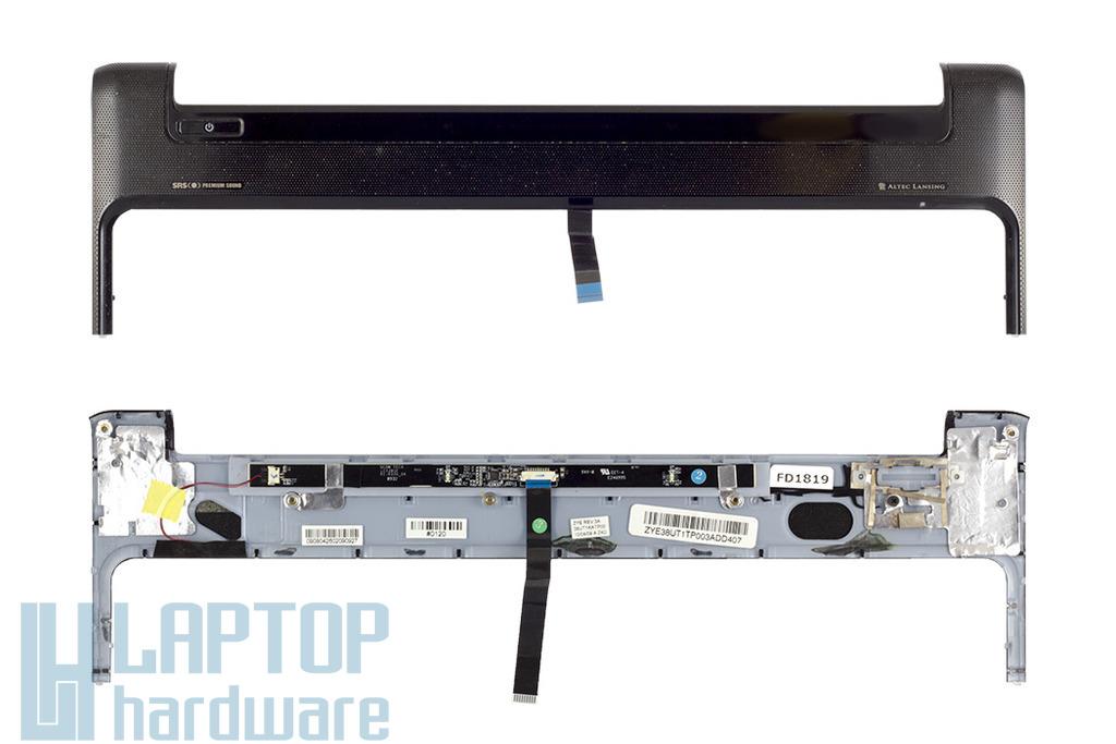 HP Pavilion dv6-1000, dv6-2000 laptophoz használt Bekapcsoló panel fedél érintőpanellel (ZYE38UT1TP)