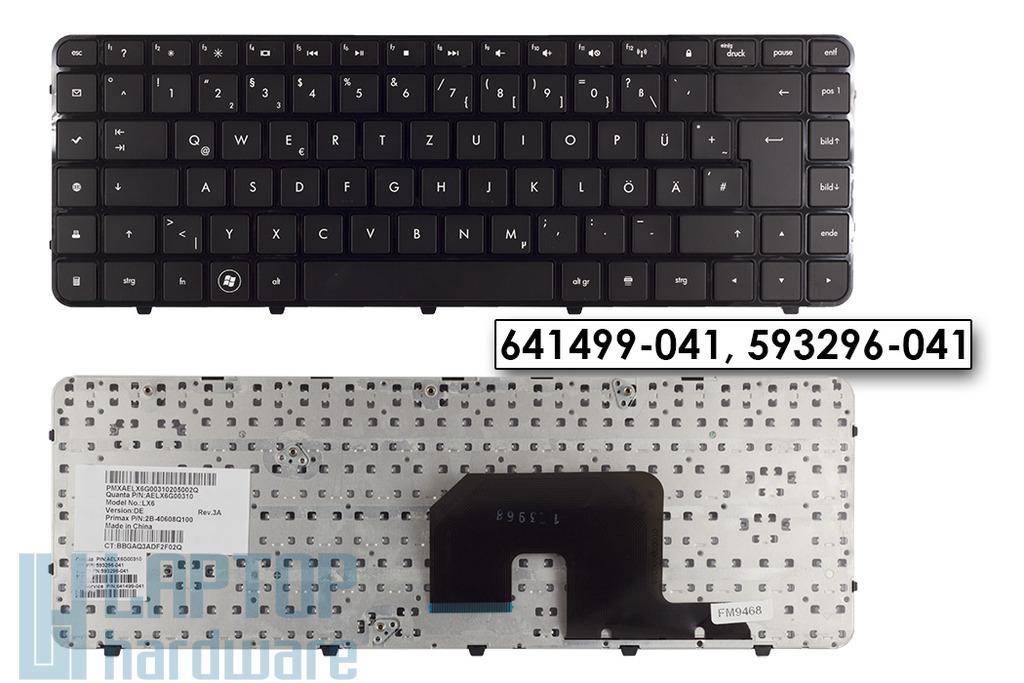 HP Pavilion DV6-3000 gyári új német laptop billentyűzet, 641499-041
