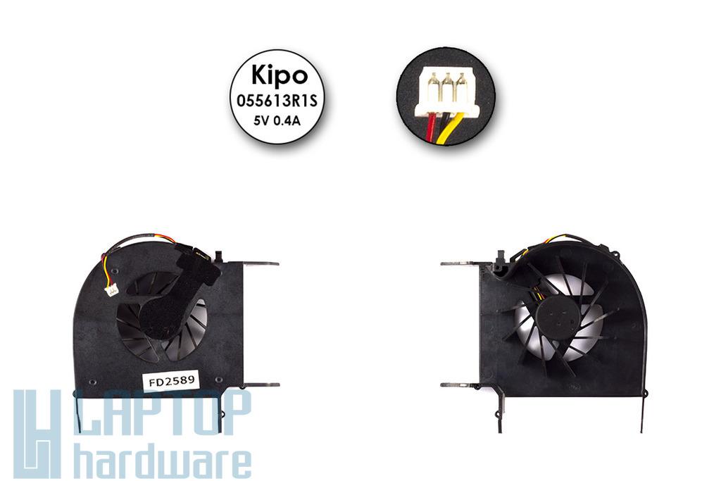 HP Pavilion dv6, dv7 gyári új laptop hűtő ventilátor (055613R1S)