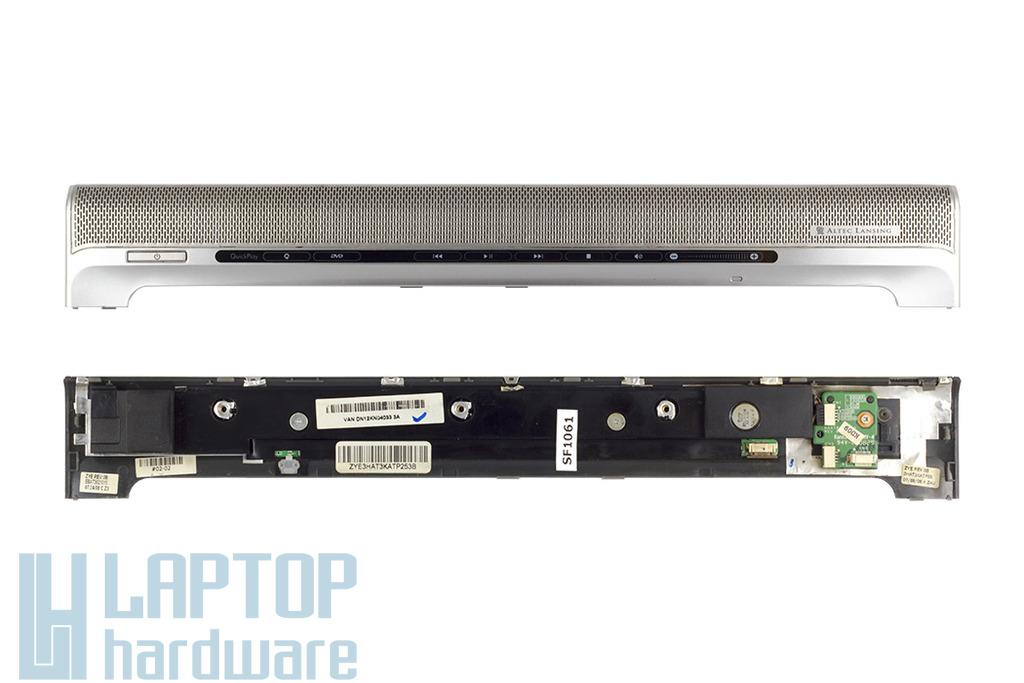 HP Pavilion DV6000 laptophoz használt bekapcsoló fedél multimédia panellel és hangszóróval (ZYE3HAT8KATP073A)