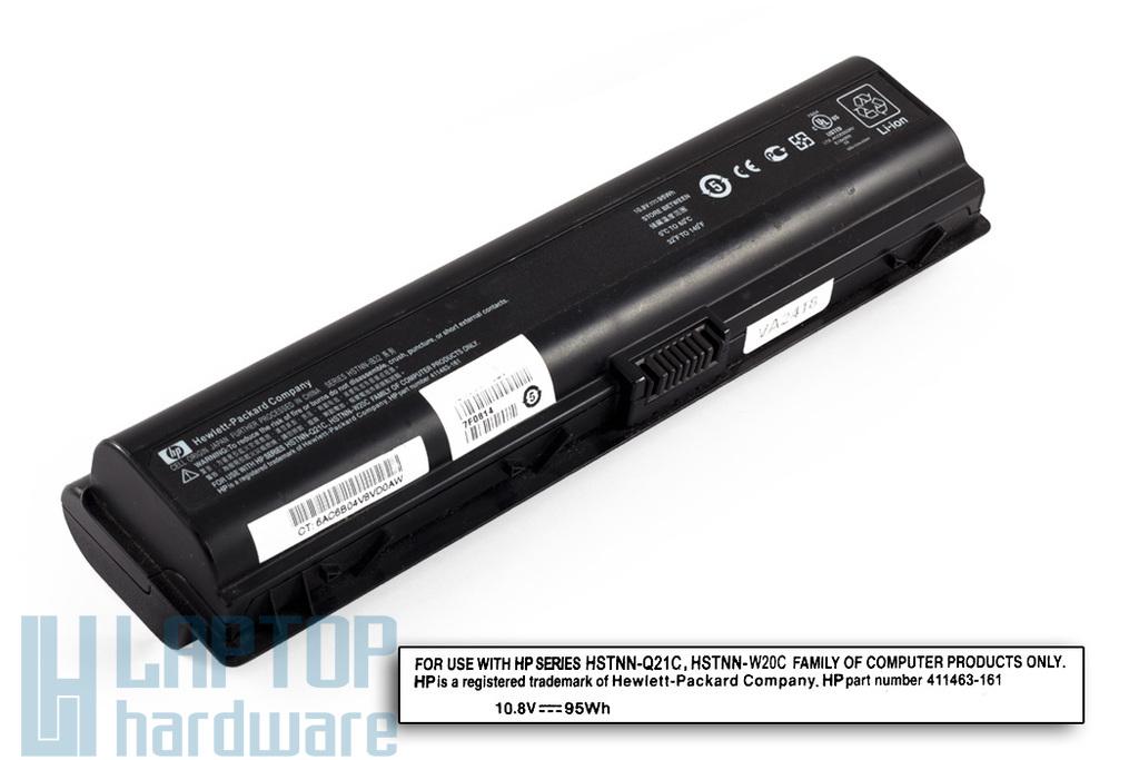 HP Pavilion dv6000 sorozat HSTNN-IB32 használt 50%-os 12 cellás laptop akku/akkumulátor