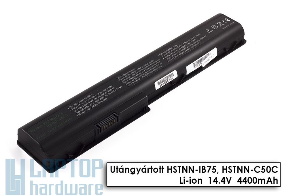 HP Pavilion dv7-1000, 1100, 1200 helyettesítő új 8 cellás laptop akku/akkumulátor (464058-121)