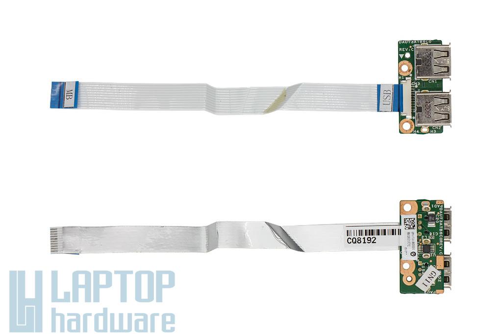 HP Pavilion DV7-3000, DV7-2000 laptophoz használt USB panel (516332-001, 518168-001)
