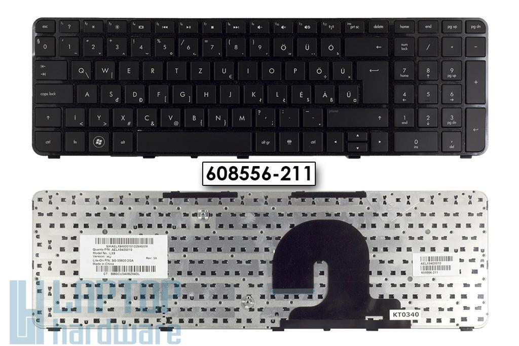 HP Pavilion dv7-4000, dv7-4100, dv7-5000 gyári új magyar laptop billentyűzet (608556-211)