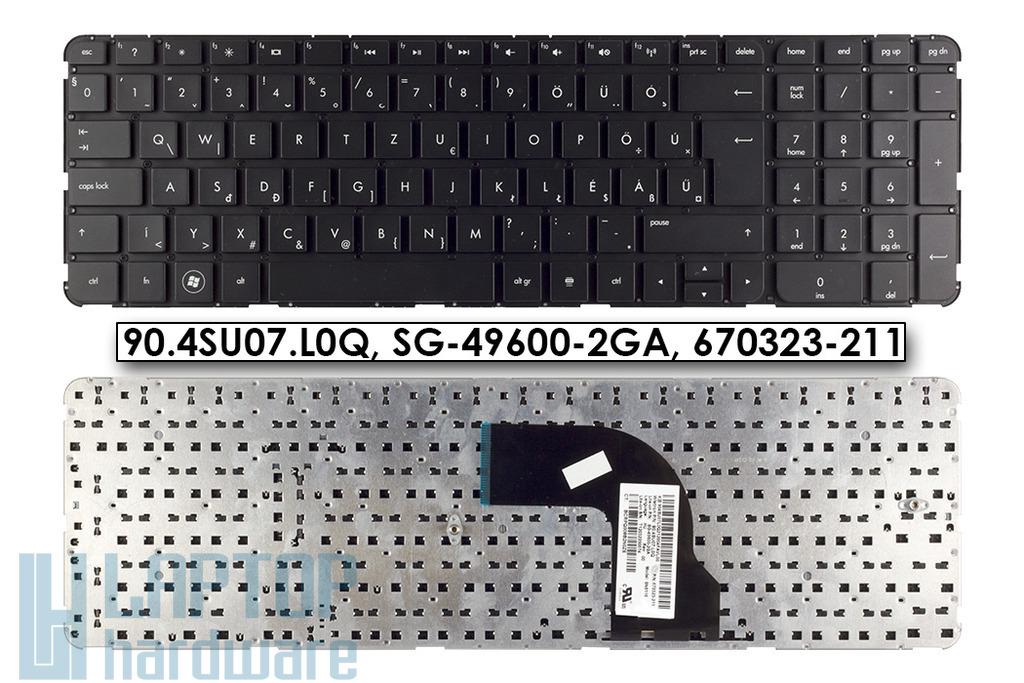 HP Pavilion DV7-7000, DV7-7100, DV7-7200 gyári új magyar laptop billentyűzet, keret nélkül (670323-211)