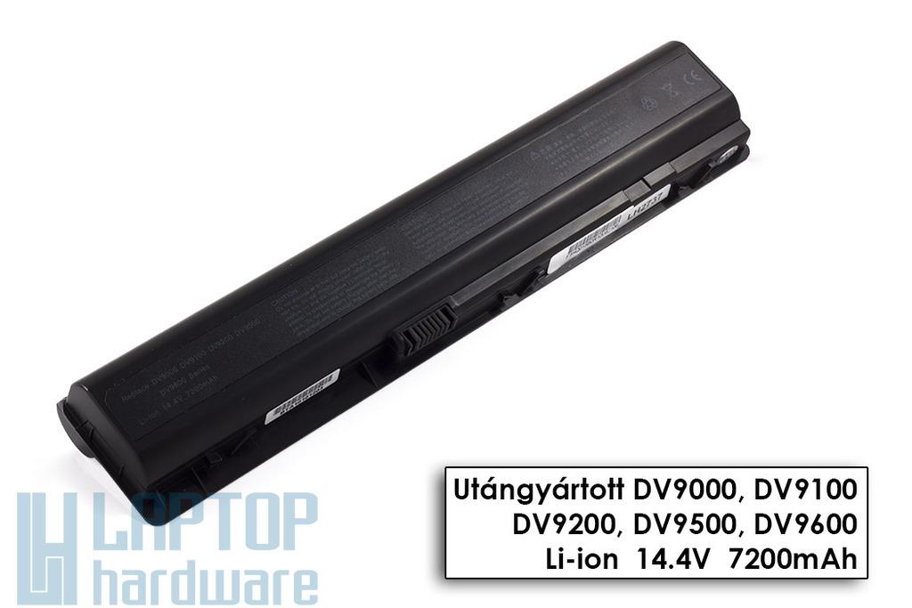 HP Pavilion dv9000, dv9500, dv9900 helyettesítő új 12 cellás laptop akku/akkumulátor (EX942AA)