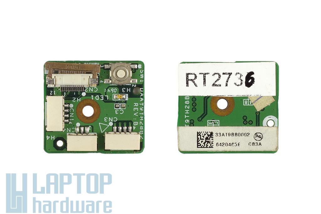 HP Pavilion DV9000 laptophoz használt Bekapcsoló Panel (33AT9BB0002)