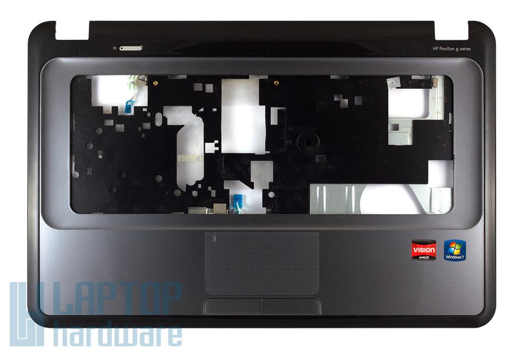 HP Pavilion G6-1000 sorozatú laptophoz használt ezüst-fekete felső fedél touchpaddal (646384-001)