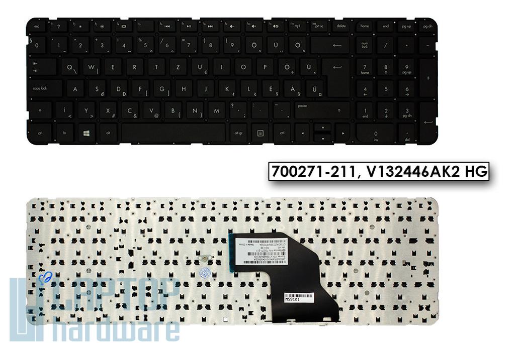 HP Pavilion G6-2000, G6-2200 gyári új magyar keret nélküli laptop billentyűzet (700271-211, V132446AK2 HG)
