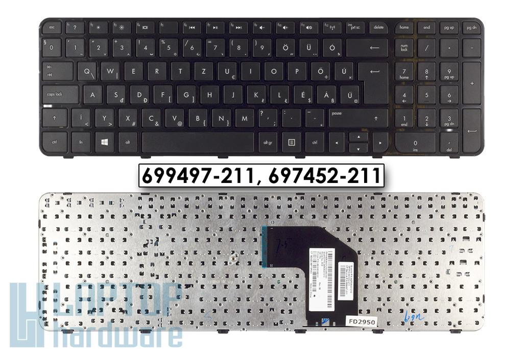 HP Pavilion G6-2000, G6-2200 gyári új magyar keretes laptop billentyűzet (700271-211, 699497-211)