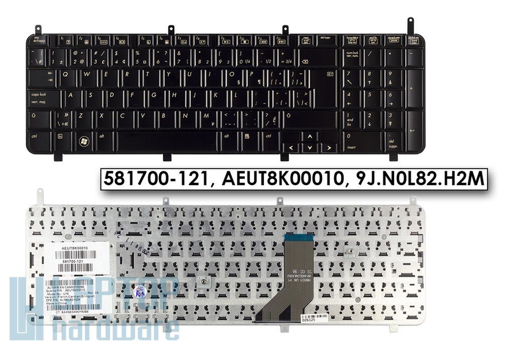 HP Pavilion HDX-18, DV8-1000 gyári új kanadai laptop billentyűzet, 581700-121