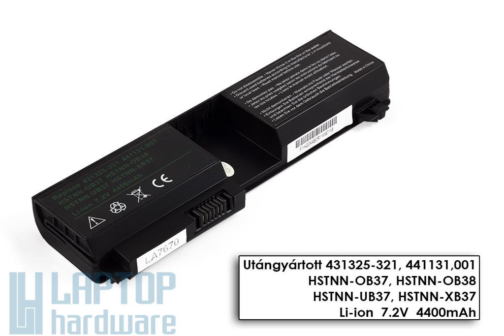 HP Pavilion tx1000, tx1100, tx2000, tx2100 helyettesítő új 4 cellás laptop akku/akkumulátor (431325-321)