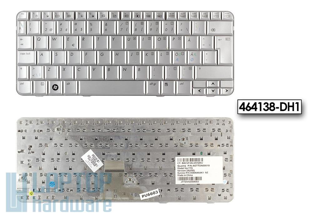 HP Pavilion TX1000, TX2000, TX2500 használt holland laptop billentyűzet, 464138-DH1