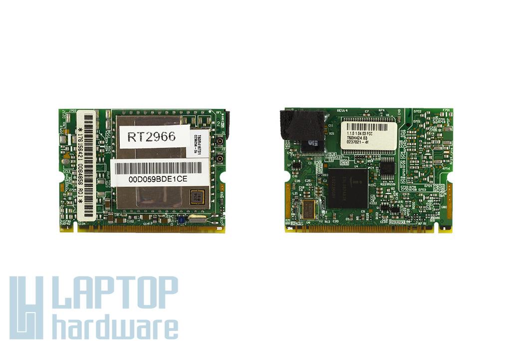 HP Pavilion ze5300, ze5375us laptophoz használt Mini PCI WiFi kártya (T60R416T01)
