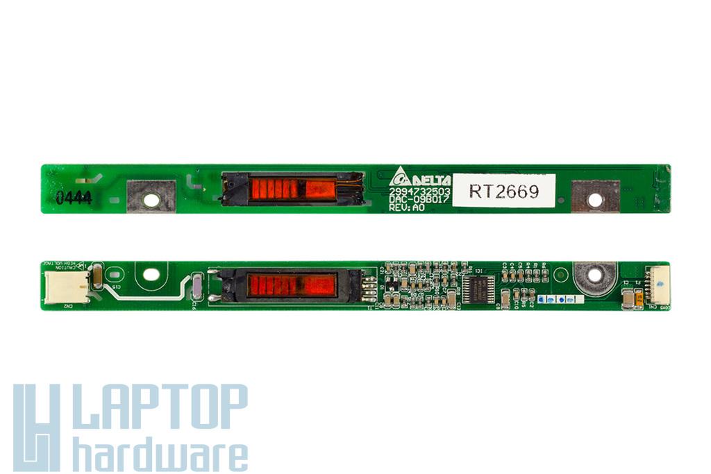 HP Pavilion zv5000 laptophoz használt Kijelző Inverter (2994732503)