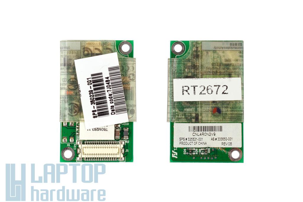 HP Pavilion zv5000 laptophoz használt Modem kártya (325521-001, 350239-001)