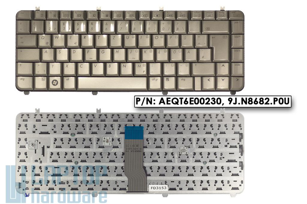 HP Pavilon DV5 gyári új német kávé színű laptop billentyűzet