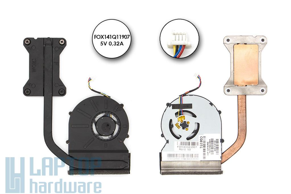 HP ProBook 430 G1 gyári új komplett laptop hűtés (727766-001)