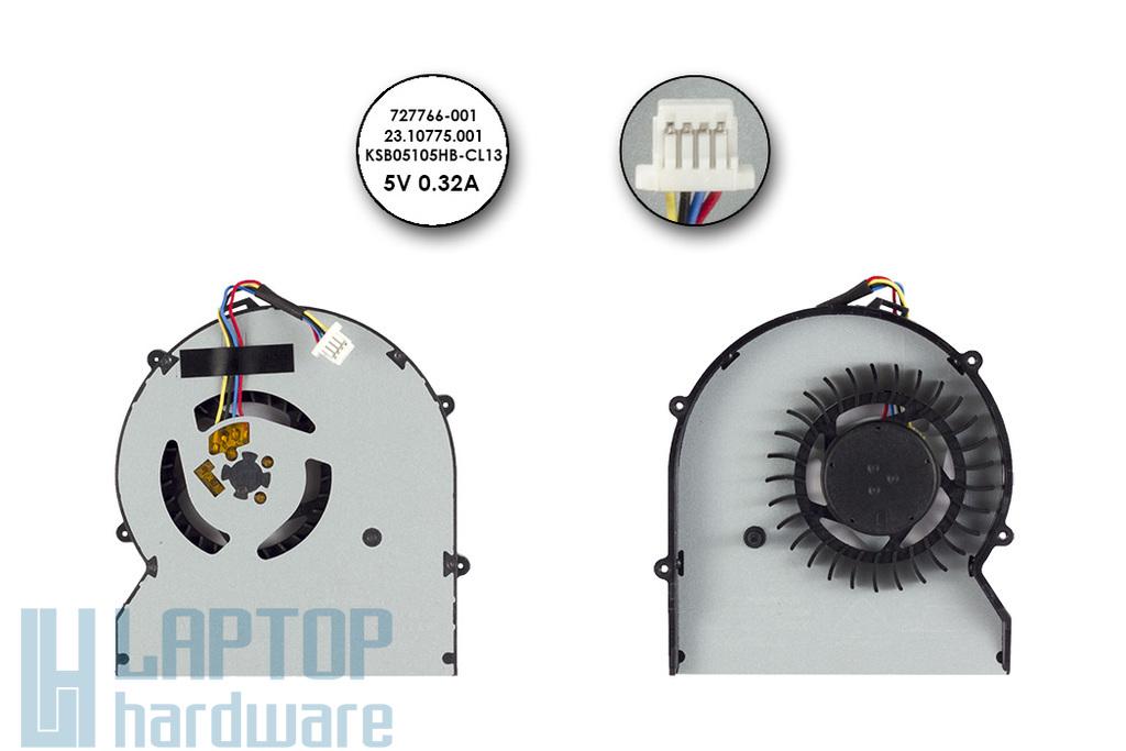 HP ProBook 430 G1 gyári új laptop hűtő ventilátor, 727766-001