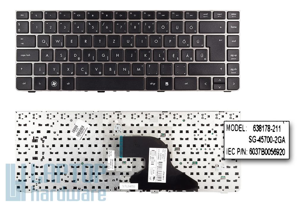 HP ProBook 4330s, 4331s gyári új magyar laptop billentyűzet (SPS 646365-211)