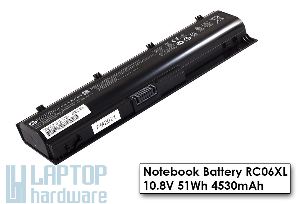 HP ProBook 4340s, 4341s laptop akkumulátor, RC06XL, H4Q46AA, 669831-001