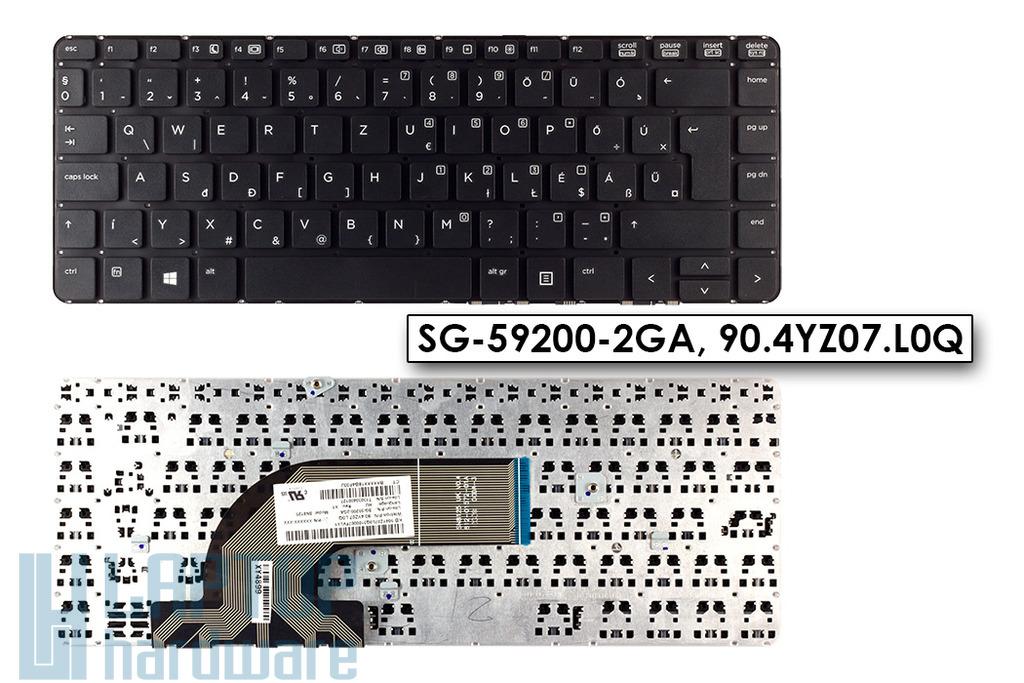 HP ProBook 440 G1, 445 G1 gyári új magyar keret nélküli laptop billentyűzet (SG-59200-2GA)