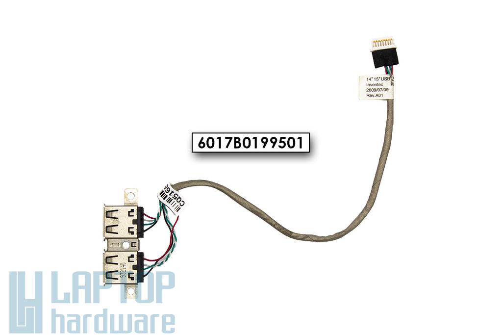 HP ProBook  4415s, 4510s, 4515s használt laptop USB csatlakozó kábellel (6017B0199501)
