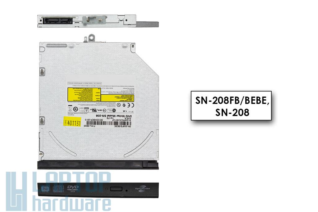 HP Probook 4415s, Compaq 4510s használt laptop DVD író előlappal (SN-208FB, 536416-001)
