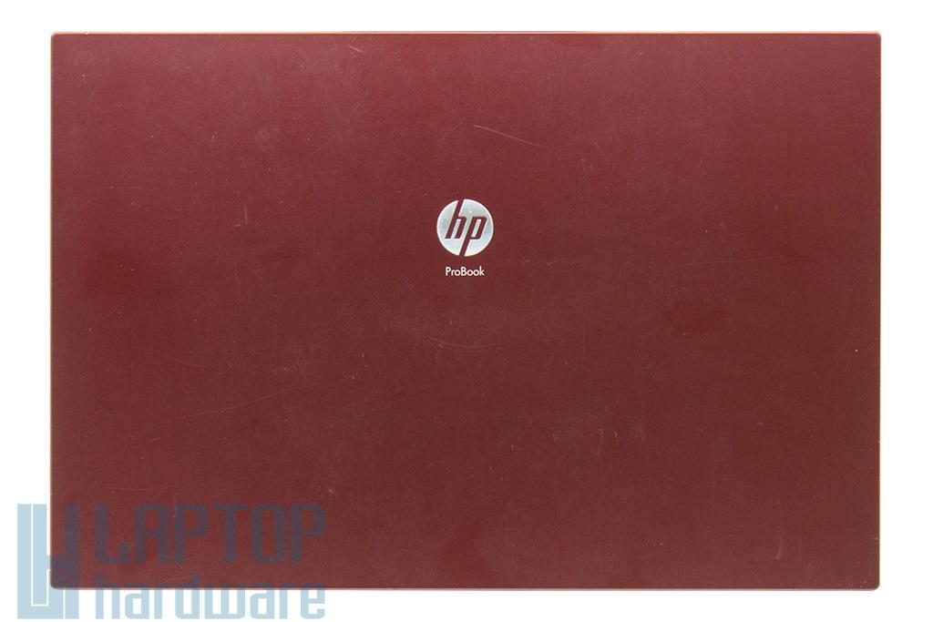 HP Probook 4415s, Compaq 4510s használt vörös laptop LCD kijelző hátlap (15.6'') (572724-001, 6070B0382201)