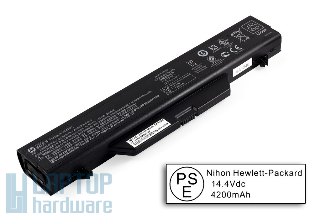 HP ProBook 4510s, 4515s, 4710s gyári új 8 cellás laptop akku/akkumulátor  SPS 535753-001