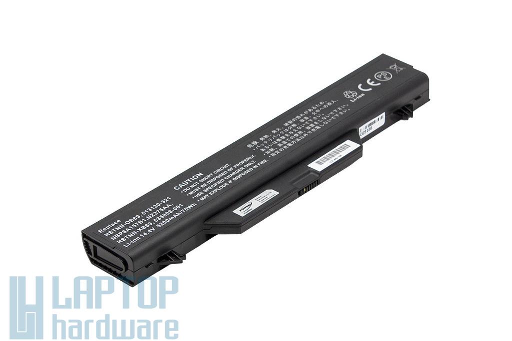 HP ProBook 4510s, 4515s, 4710s helyettesítő 90%-os 8 cellás használt laptop akku/akkumulátor (HSTNN-OB89)