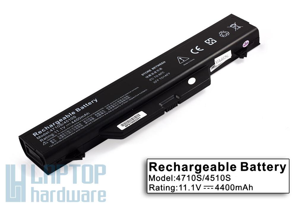 HP ProBook 4510s, 4515s, 4710s helyettesítő új 6 cellás laptop akku/akkumulátor (HSTNN-OB89)