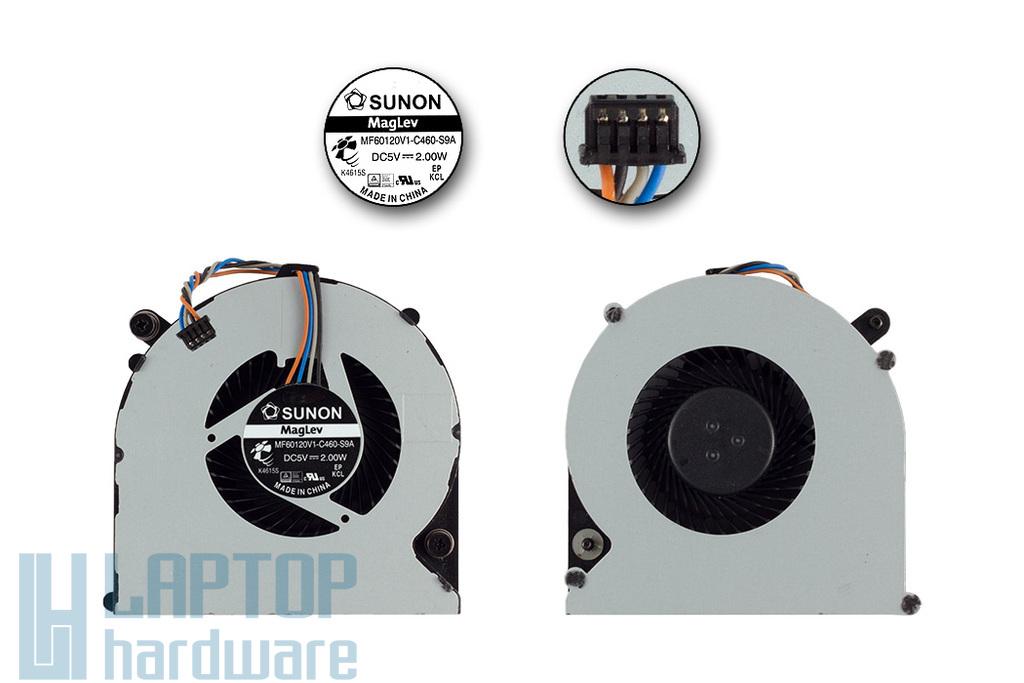 HP ProBook 4530s, 8460p gyári új laptop hűtő ventilátor (MF60120V1-C460-S9A)