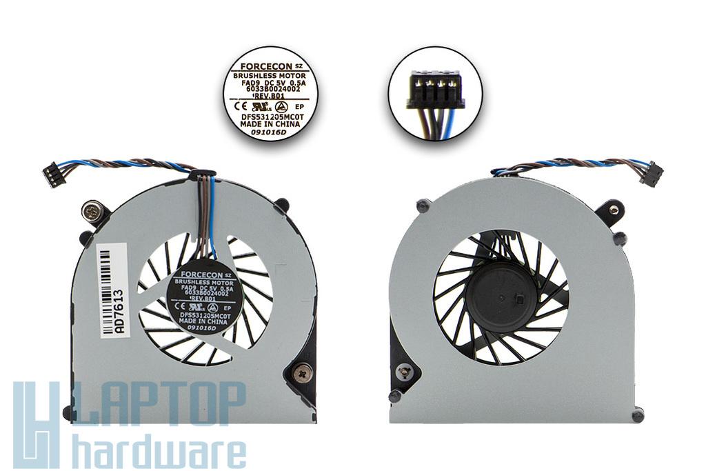 HP ProBook 4530s, 8460p gyári új laptop hűtő ventilátor (FAD9)