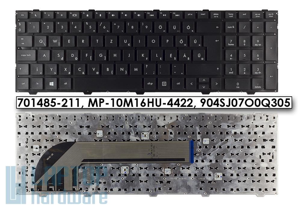 HP Probook 4540s, 4545s gyári új magyar laptop billentyűzet, keret nélküli (701485-211, 701548-211)